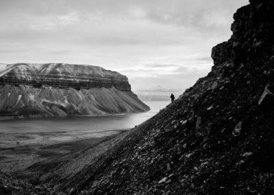 Hiking in Svalbard for the best views